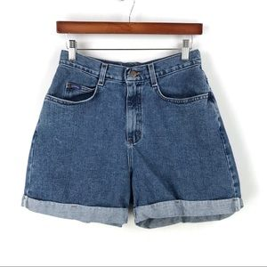Riders | Vintage High Waist Mom Jean Shorts